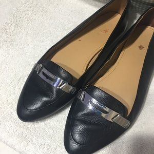 Coach slip on flats